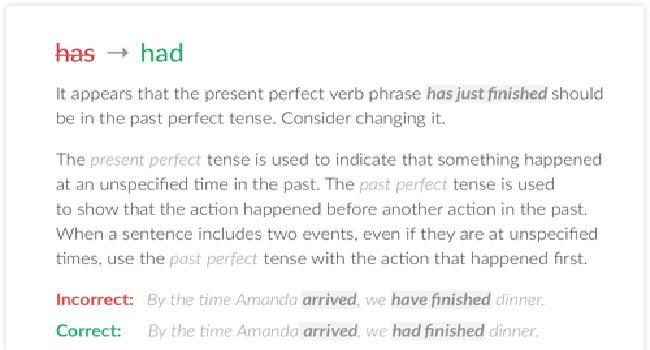 Change the sentence online