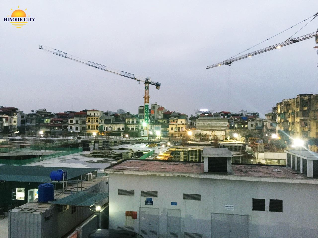 Cập nhật tiến độ dự án 201 Minh Khai