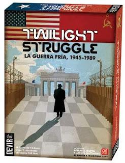 Twilight Struggle la Guerra Fría 1945-1989 el juego de tablero