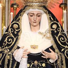 En imágenes, la veneración a la Virgen de las Angustias