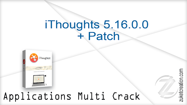 iThoughts 5.16.0.0  + Patch     |   23 MB