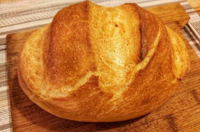 Elronthatatlan házi kenyér, jénaiban sütve! Friss, forró, ropogós, egyszerűen tökéletes