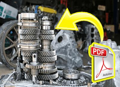 كتاب تشخيص الأعطال في مجموعة نقل الحركة في السيارات PDF