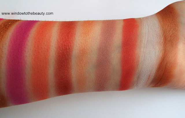 Reloaded Red Alert swatches and review