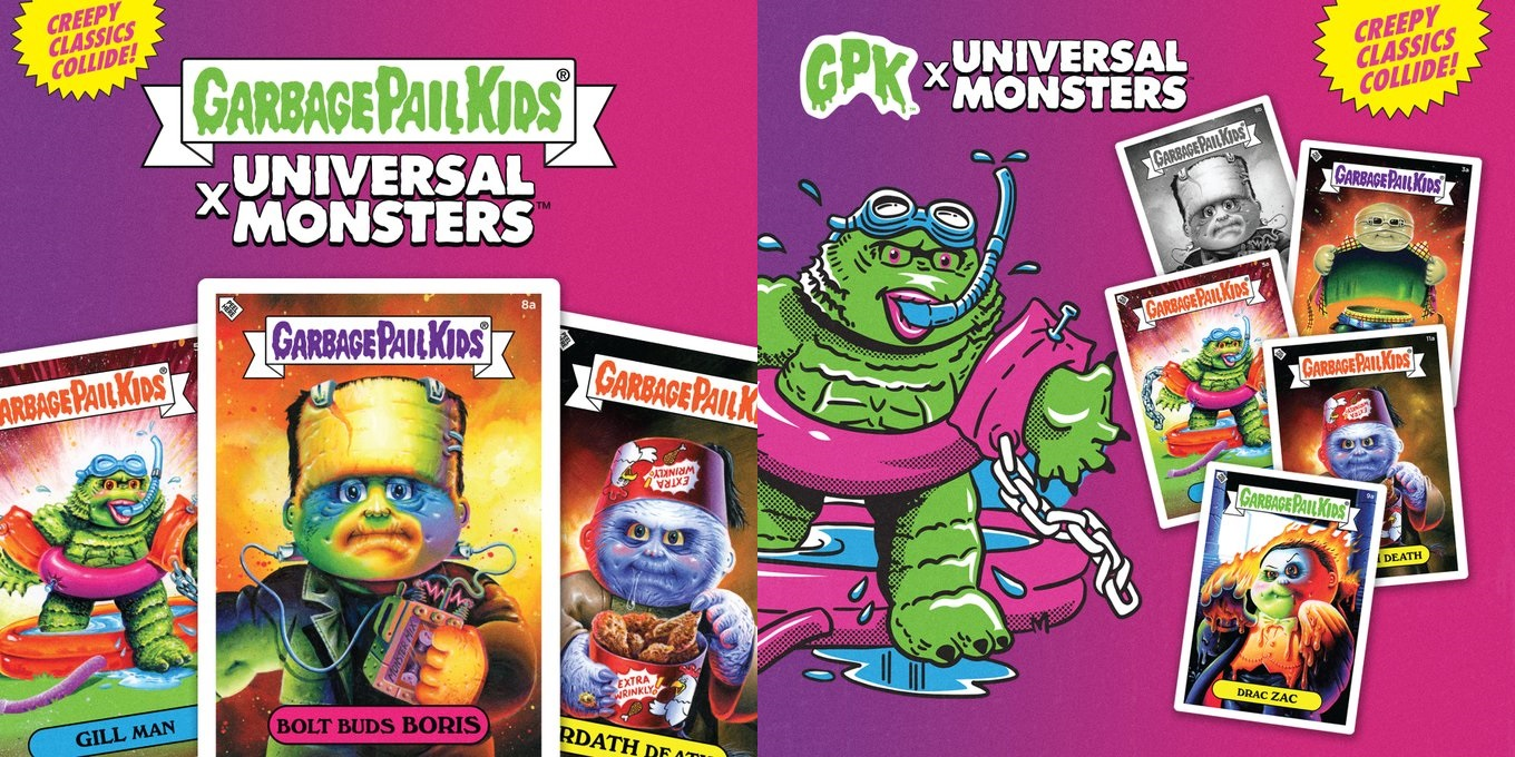 The Blot Says   : SDCC 2019 Exclusive Garbage Pail Kids x Universal