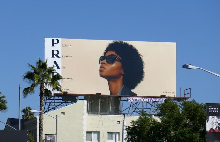 Prada Eyewear Patience rewards any dreamer always billboard
