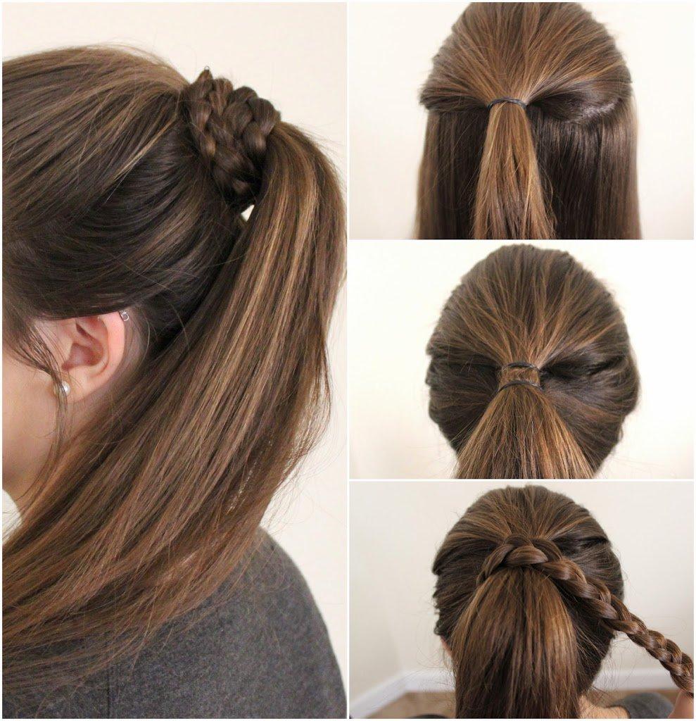 Peinados de trenzas paso a paso facil
