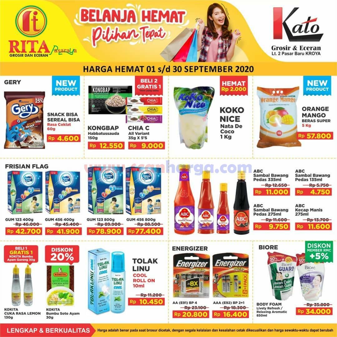 Katalog Promo Rita Pasaraya Supermarket Terbaru 1 - 30 September 2020