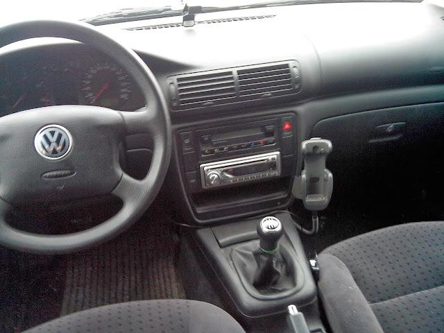 Vand VW Passat inscris