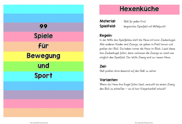 Spielekartei - 99 Spiele für Bewegung und Sport - Grundschule