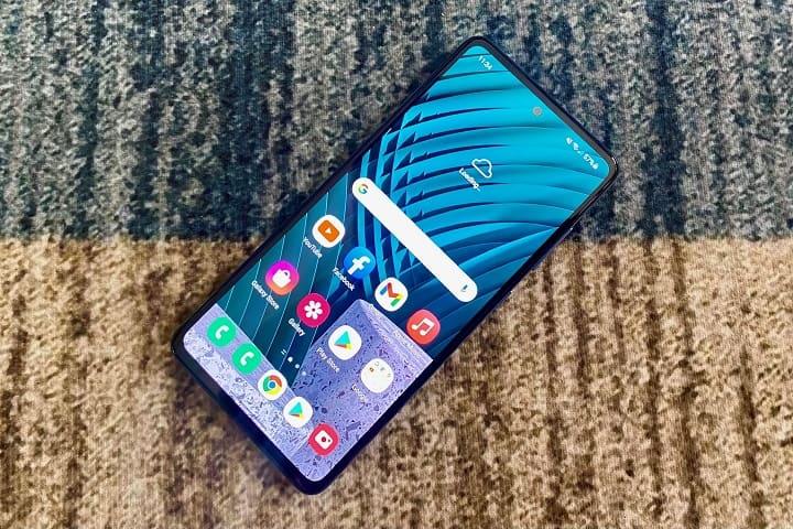 Samsung Galaxy A52 Display Review