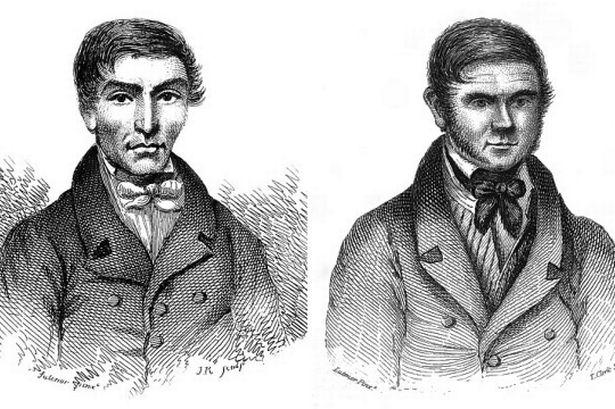 Los ladrones de cadáveres William Burke y Hare