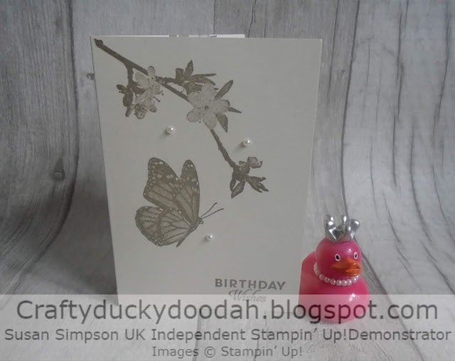 #simplestamping, Butterfly Wishes, Craftyduckydoodah!, Stamp 'N' Hop June 2019, Stampin' Up! UK Independent Demonstrator Susan Simpson, Supplies available 24/7 from my online store