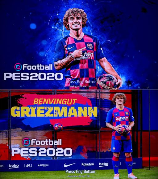 Start Screen Griezmann Barcelona PES 2013