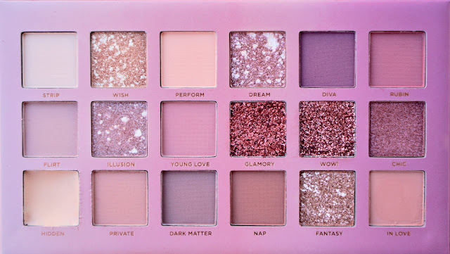 paleta soft nude ruby rose cores