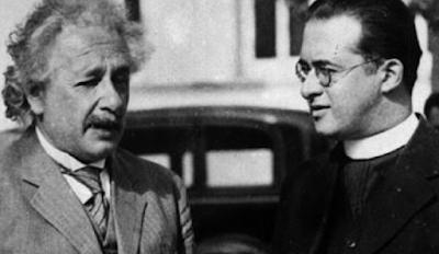 Einstein and Georges Lemaître