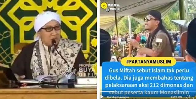 "Nasihat Buya Yahya Untuk Gus Miftah terkait Kontroversi ""Islam Tidak Perlu Dibela"""