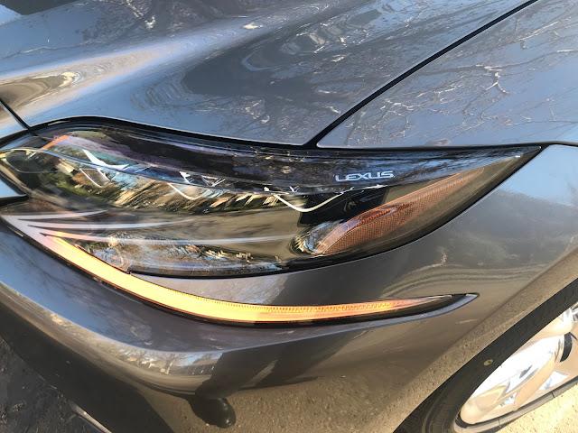 "Headlamp detail---""Lexus"""