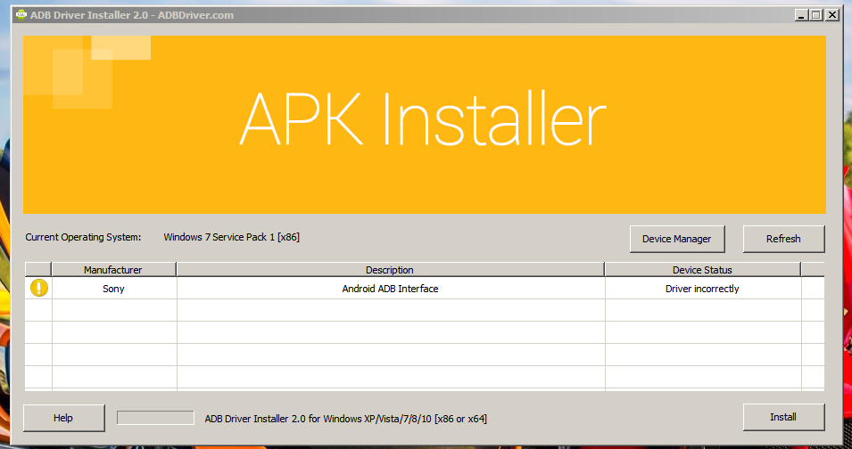 download adb driver installer for windows xp