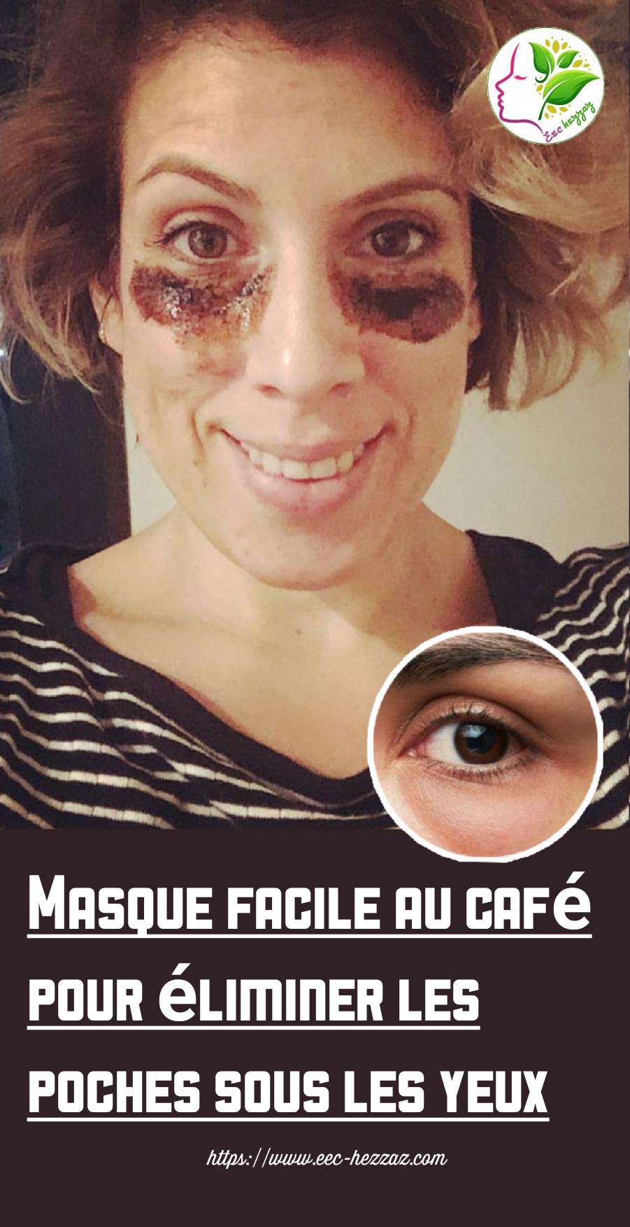 Masque facile au café pour éliminer les poches sous les yeux