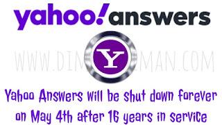 याहू बंद करने जा रहा है Yahoo Answers 16 साल सर्विस के बाद - डिंपल धीमान