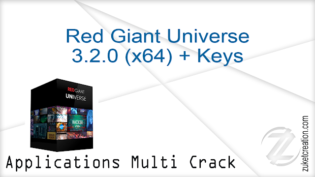 Red Giant Universe 3.2.0 (x64) + Keys