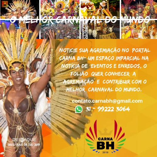 Noticie no Carna BH, o Melhor Carnaval do Mundo