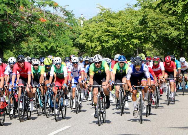 Seleção Brasileira no Pan de Estrada - Foto: CRCiclismo / Divulgação