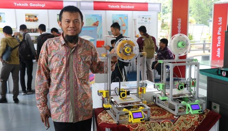 Wow, Ini Nih Pelopor Printer 3D di Indonesia