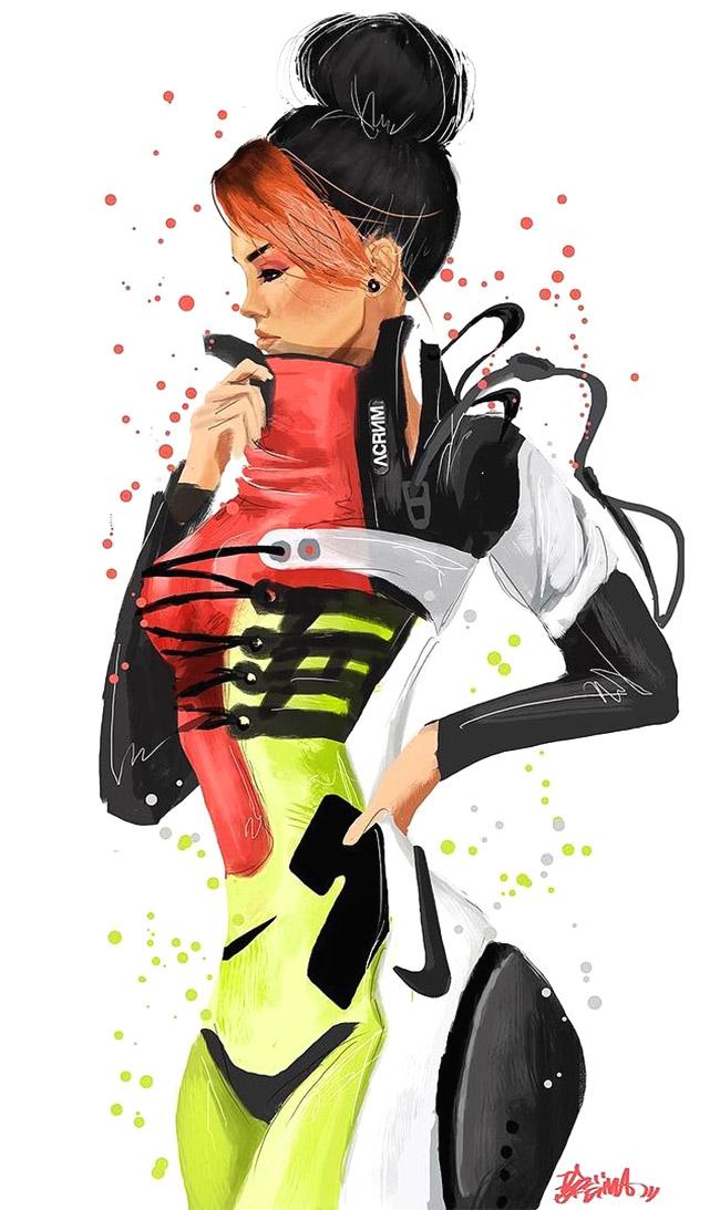 ARTIST: Reina Koyano | @_vivalareina | www.reinakoyano.com | via: YellowMenace.net