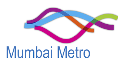 Mumbai metro logo which shows different lines and their colour