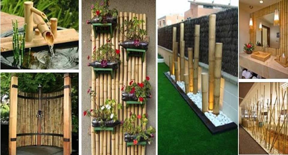 Diy Tree Bamboo Decorating Ideas