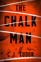 The Chalk Man by C.J. Tudor book cover and review