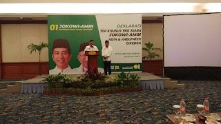 Timsus 1901 Kota Dan Kab Cirebon Siap Menangkan Jokowi - Ma'ruf Amin