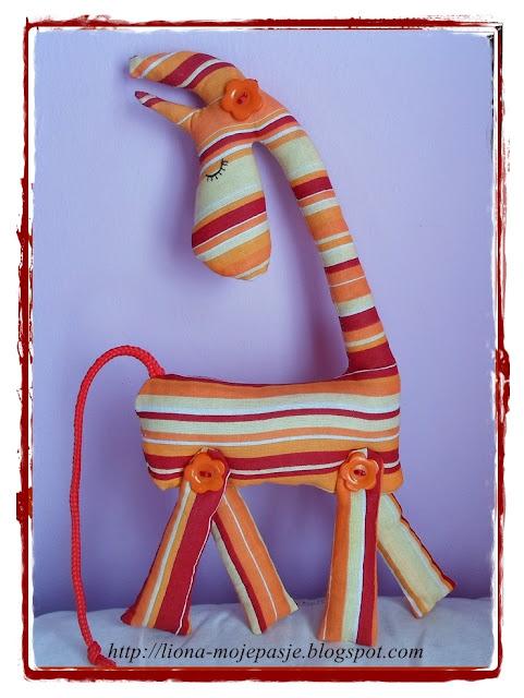 Nowa żyrafka.