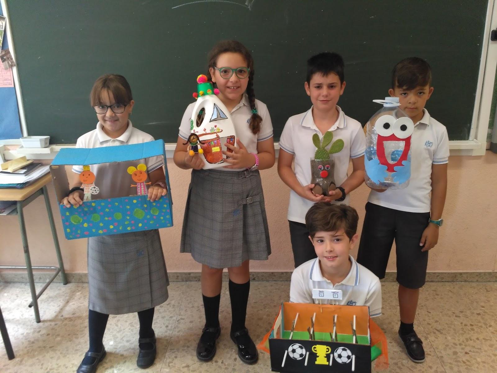 Agustinas Valladolid - 2017 - Primaria 4 - Reciclaje