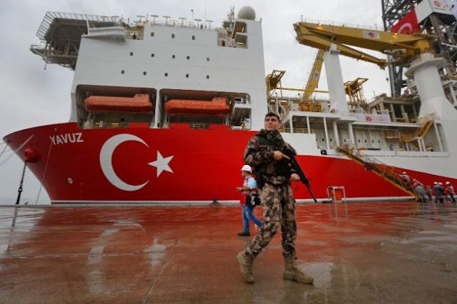 Τουρκία: «Παράνομη και μεροληπτική η απόφαση της Ε.Ε. για τις γεωτρήσεις»