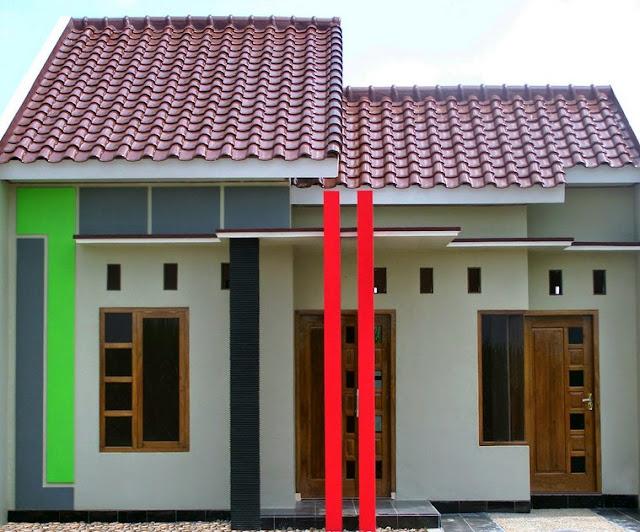 rumah sangat sederhana tapi menawan