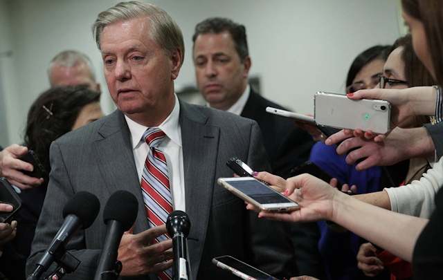 Lindsey Graham warns Trump: Don't let Democrats 'goad you' into dropping infrastructure plans - POLITICO