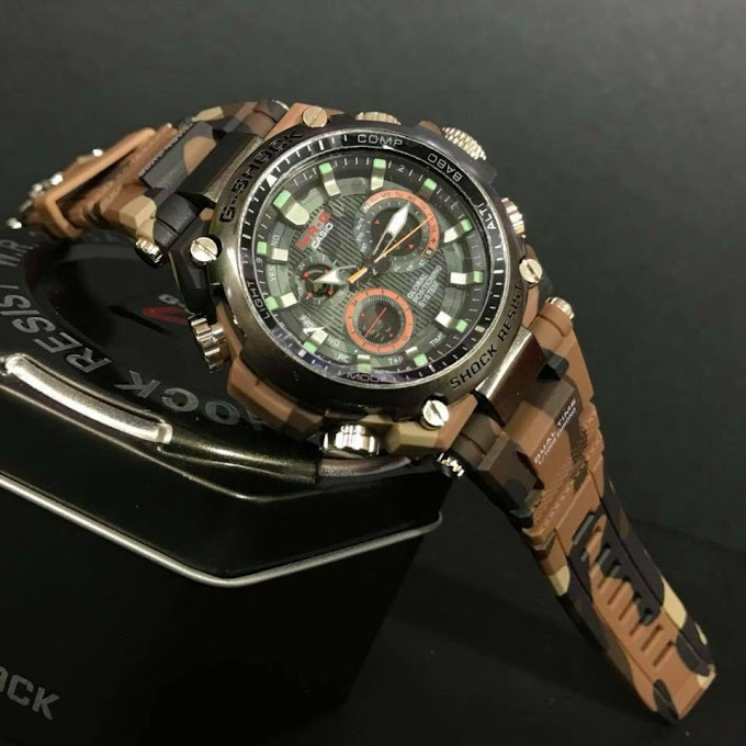 Casio Mr-G Army Leather Exclusive