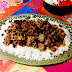 Red beans and rice with ground beef - Frijoles rojos con arroz y carne picada - Cocinas del Mundo (Louisiana)