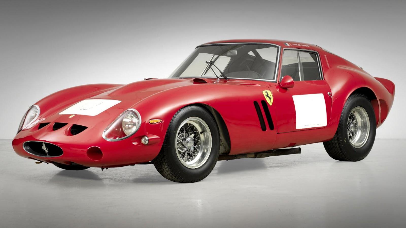 1962 Ferrari 250 GTO - Siêu xe cổ đắt nhất thế giới từng được đấu giá