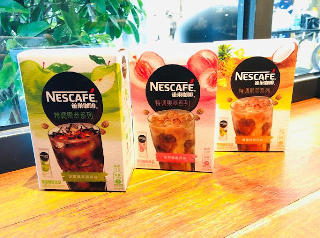 Nestle unveils fruity instant coffee in China
