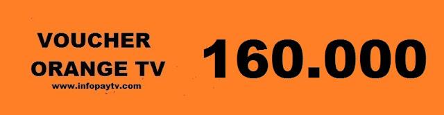 Voucher Orange TV 160 Ribu