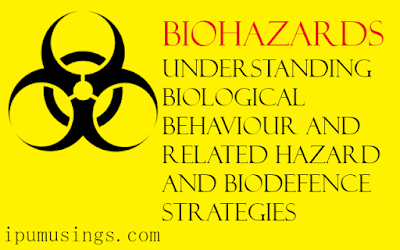 Biohazards: Understanding Biological Behaviour and Related Hazard and Biodefence Strategies (disinfection)(#ipumusings)(#biochemistry)