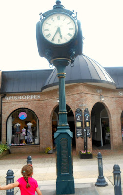 Town Clock in Stone Harbor New Jersey