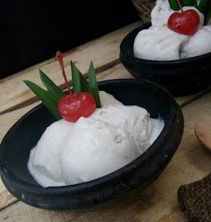 Cara Membuat Es Krim Durian Montong