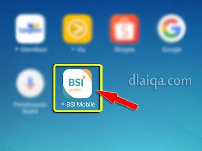 tap 'BSI Mobile'