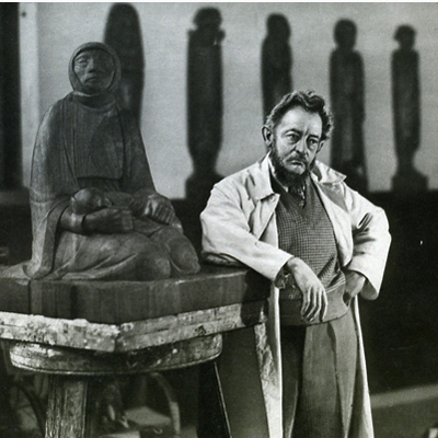 aquí y ahora: Ernst Barlach - escultura