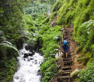 Sumber Pitu Waterfall Batu Malang